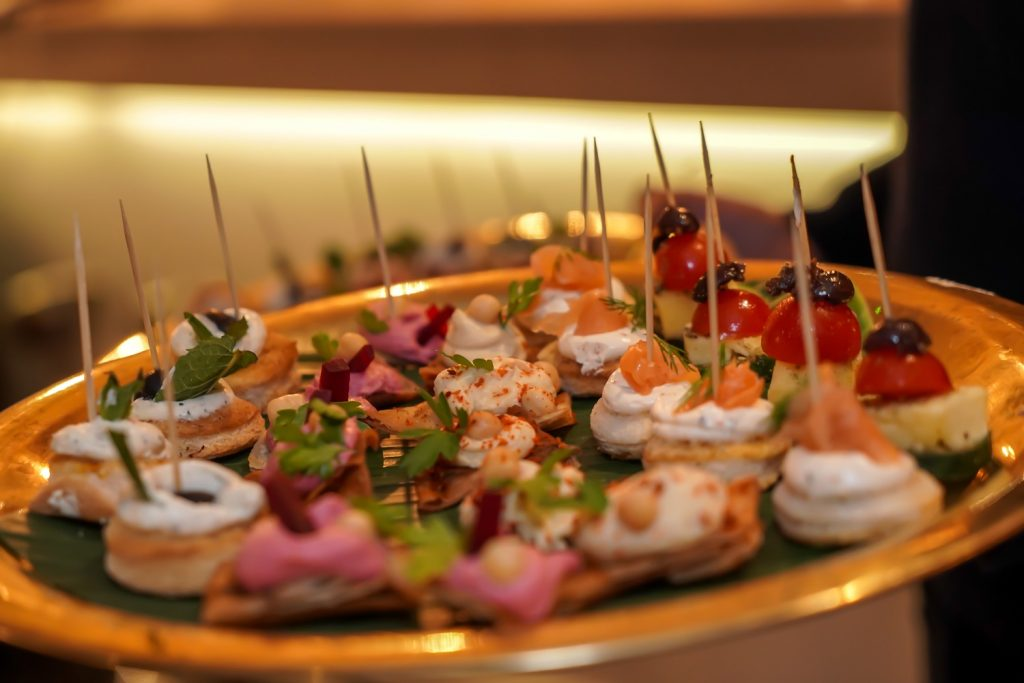 Canapes at Liban Launch Party